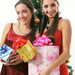 Two woman — Stock Photo