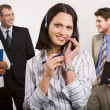 Royalty-Free Stock Photo: Best telephone operator