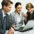 Group of colleagues — Stock Photo