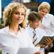 Stock Photo: Pretty businesswomen