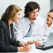 Business team at meeting — Stock Photo #10709544