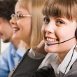 Stock Photo: Friendly customer support service