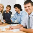 Stock Photo: Confident business team