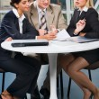 Royalty-Free Stock Photo: Business team at meeting