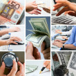 Conceptual business collage — Stock Photo #10709800