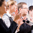 Applauding — Stock Photo