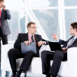Stock Photo: Business negotiations