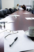Break at business meeting — Stock Photo