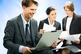 Empresário confiante — Fotografia Stock