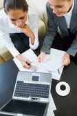 Idéias de negócios de discussão — Foto Stock