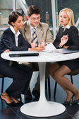 Business team at meeting — Stock Photo