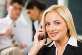Telephone call — Stock Photo