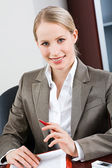 Bossy woman — Stock Photo