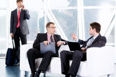 Business negotiations — Stock Photo
