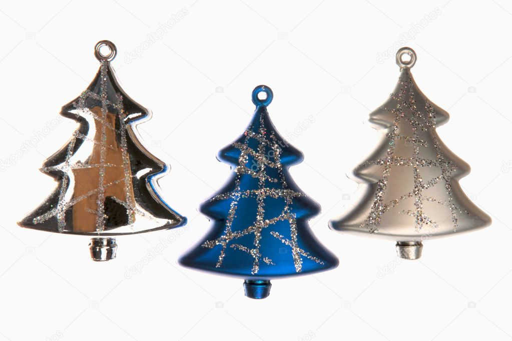 Variety of christmas decoration isolated on white background  Stock Photo #10709263