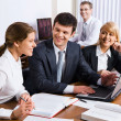 Business discuss the plan of work — Stock Photo #10710183