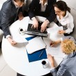 Image of business working at meeting — Stock Photo #10710365
