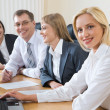 Group of business working at meeting — Stock Photo #10710525