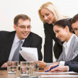 Group of business working at meeting — Stock Photo #10710539