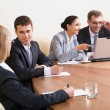 Group of business working at meeting — Stock Photo #10710546