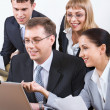 Group of business working at meeting — Stock Photo #10710560