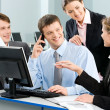 Group of business working at meeting — Stock Photo #10710764