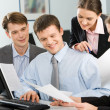Group of business working at meeting — Stock Photo #10710765