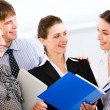 Business working together in the office — Stock Photo #10711036