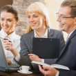 Business interaction — Stock Photo #10711350