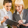 Two business women — Stock Photo #10711355