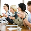 clapping — Stock Photo