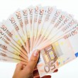 Fifty euro - Stock Photo