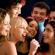 Karaoke party - Stock Photo