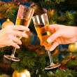Champagne flutes — Stock Photo #10712646
