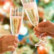 Two glasses of champagne — Stock Photo #10712659