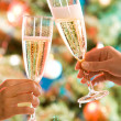 Royalty-Free Stock Photo: Two glasses of champagne