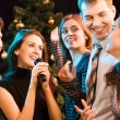 Royalty-Free Stock Photo: Karaoke party
