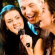Royalty-Free Stock Photo: Singers