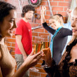 Stock Photo: Evening-party