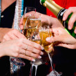 Pouring champagne — Stock Photo #10712844