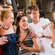 Royalty-Free Stock Photo: Crazy party