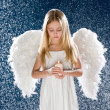 Sad angel — Stock Photo