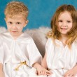 Royalty-Free Stock Photo: Two angels