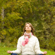Stock Photo: Meditating