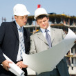 Royalty-Free Stock Photo: Architect and worker