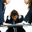 Working conflict — Stock Photo #10713560