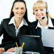 Successful businesswomen — Stockfoto #10714013