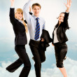 Joyful business - Stock Photo