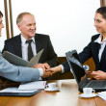 Business consensus — Stock Photo