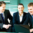 Business team at work — Stock Photo #10714118
